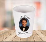 Class of 2020 Personalized Photo Shot Glass