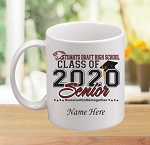 SDHS Class of 2020 Personalized Coffee Mug