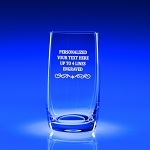 Meridian Beverage Tumbler 13 oz Engraved Bar Glass