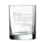 Aristocrat Executive OTR On the Rocks 11 oz Bar Glass Engraved with Your Logo