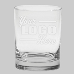 Aristocrat Executive DOF Double Old Fashion 14 oz Bar Glass Engraved with Your Logo