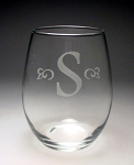 Trendsetter Stemless Perfection Jar Wine Glass 15 oz