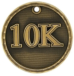 10K Race Award Medal