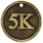 5K Race Award Medal