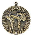 Karate Martial Arts Male Five Star Series Medal