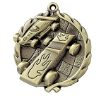 Pinewood Derby Wreath Medal