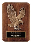 Cast Eagle Plaque 7x9