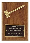 Gavel Recognition Plaque 5x7