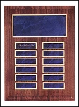 Perpetual Plaque with 12 sapphire blue name plates