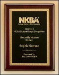 Rosewood piano finish Award Plaque ~  available in 4 sizes