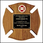 Maltese Cross Plaque 10 x 10