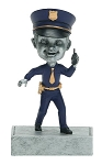 POLICEMAN Bobblehead Resin Award
