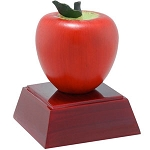 Red Apple Sculpture Resin Award