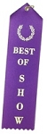 Best of Show Award Ribbon 2x8