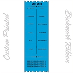 CUSTOM PRINTED 2020 Calendar Satin Ribbon Promotional Bookmarks 3