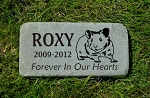 HAMSTER Pet Memorial Grave Markers 6x12 Bluestone