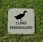 Duck Memorial Bluestone 6x6