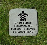 Turtle Memorial Bluestone 12x12