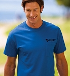 VDOT Port Authority® - Essential T-Shirt with Pocket  16 Available Colors