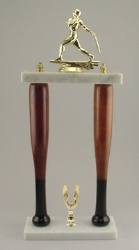 "20"" Bat Column Trophy"
